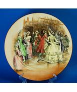 """Royal Doulton Sir Roger de Coverley 10.25"""" Dinner Plate Dance - $38.00"""