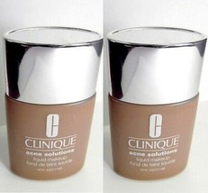 2pc LOT CLINIQUE 07 Fresh Golden Acne Solutions Makeup Foundation - $25.65