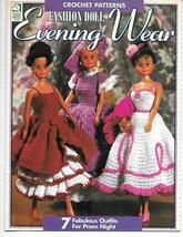 Barbie Ken Fashion Doll Evening Wear Crochet Patterns 7 Prom Night Outfits - $15.95