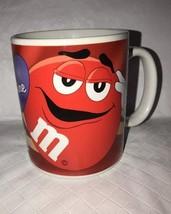 "Red M&M Candy Coffee Mug/Cup ""Be Mine"" Valentine Galerie Ceramic RED - $13.85"