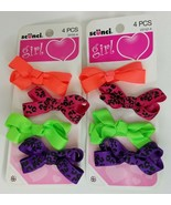 Scunci Salon Bow Hair Clips #23152 4 pc Lot of 2, Packaging May Vary - $8.99