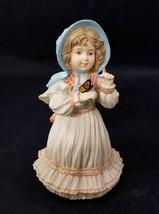 Maud Humphrey Bogart Figurine Flying Lessons COA 233/15000 Girl Butterfl... - $19.34