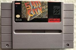 ☆ Sim City (Super Nintendo 1991) AUTHENTIC SNES Game Cart - Tested & Wor... - $10.99