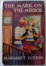 Judy Bolton The Mark on the Mirror no.15 Margaret Sutton 1946 printing hcdj - $12.00