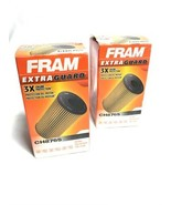 Lot of 2 Engine Oil Filter-Extra Guard Fram CH8765 for Cadillac ATS,CTS,... - $13.85