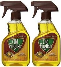 Old English, Lemon Oil, Trigger Sprayer, 12 Ounce Pack of 2