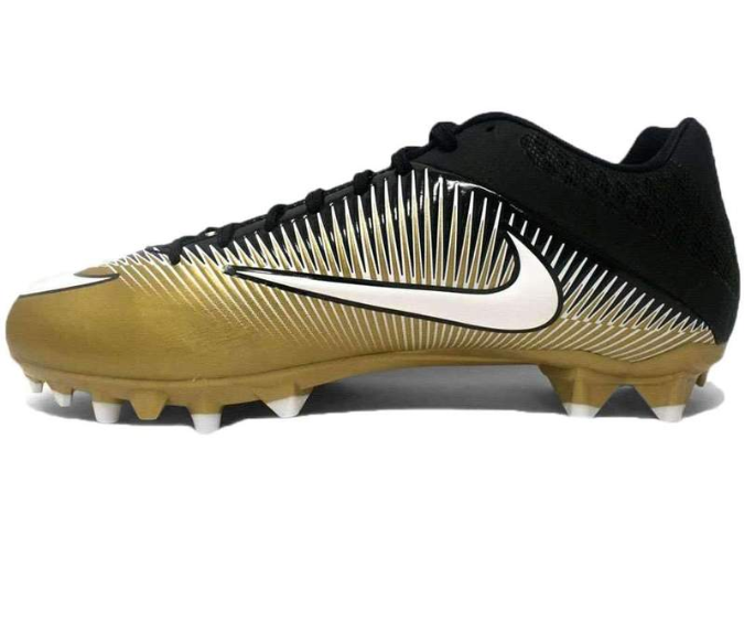 Primary image for Mens Nike Vapor Speed 2 TD PF Football Cleats Gold/Navy 846805-720 Size 12