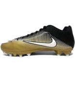 Mens Nike Vapor Speed 2 TD PF Football Cleats Gold/Navy 846805-720 Size 12 - $40.59