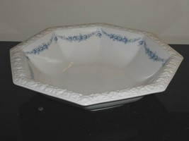 Rosenthal Classic Rose Collection Maria Blue Garland Octagonal Serving Bowl - $49.00