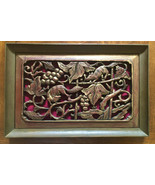 Vintage wall art 1969 Guam carved wood mice wall art wood carving wall h... - $75.00