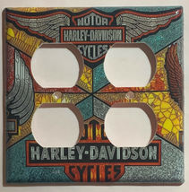 Harley-Davidson MotorCycles Light Switch Outlet Wall Cover Plate Home decor image 15