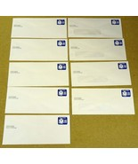 USPS Scott UO74 22c Envelopes Watermark Official Business Lot of 9 Blue - $21.55