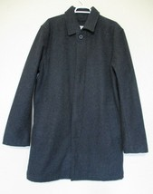 Gap Peacoat Coat Large Men gray wool blend - $39.59