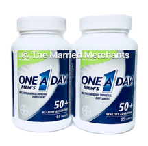 (2) One A Day Men's 50+ Healthy Advantage Multi 65 tablets each 10/2020 READ - $1,588.00