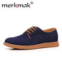 Breathable Merkmak Fashion 47 Men Size Brand 2018 Shoes Big Casual Male Business wqOOz1R