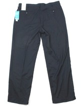 NEW Perry Ellis Portfolio Pants Sz 38 X 32 Blue Carbon Herringbone NEO-L... - $40.63