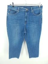 Talbots Flawless High Waist Modern Ankle Stretch Jeans Womens Size 14 - $39.59