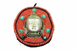 Wall hanger for peace prosperity meditation and wealth with Buddha bless... - $23.75