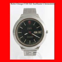 Vintage Omega SeaMaster F300 Mint  Day-Date Steel  Wrist Watch 1975 - $989.72