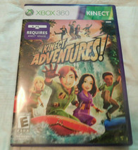 Microsoft Xbox 360-Video Game-(KINECT Adventures!) - $9.89