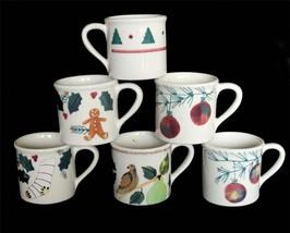 LRG Vintage Hartstone Christmas Holly Gingerbread Ornaments Partridge Mug U-PICK - $19.99