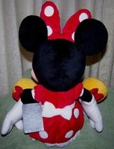 "Disney Jr Minnie Mouse in Red Polka Dot Dress 19"" Plush NWT image 2"