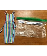 Vintage Barbie Best Buy Fashions Vertical Stripe Sun Dress #1354 Short 1... - $9.74