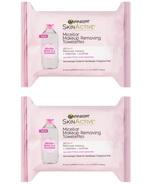 Garnier SKINACTIVE Micellar Makeup Remover Towelettes 25ct Set of 2 - $7.99