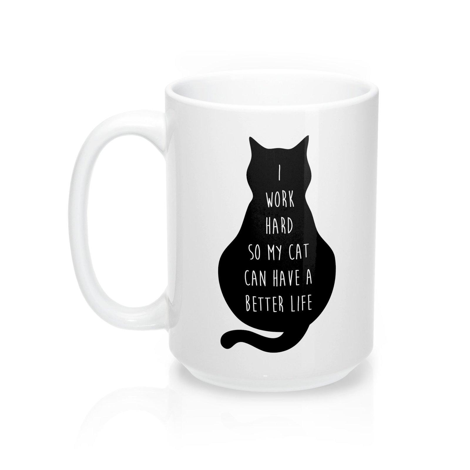 I Work For My Cat Mug
