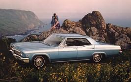 1966 Chevrolet Impala ad ocean   24 x 36 INCH   sports car - $18.99