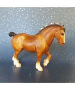 Vintage Breyer Clydesdale Draft Horse Bobs Brown Bay # 80 1970s - $24.70