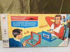 Vintage 1967 Milton Bradley Classic Battleship Combat Game - $32.67