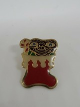 VINTAGE 1980's Christmas stocking E.T. EXTRA TERRESTRIAL ENAMEL PIN BROOCH - $14.36