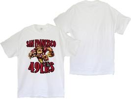 San Francisco 49ers White Men's T-Shirt (S / M / L / XL / 2XL / 3XL) - $19.80+