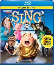 Sing (2017) Blu-ray/DVD