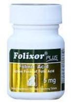 Intensive Nutrition Folixor Plus Folinic Acid, 5 Milligrams image 1