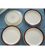 "JEPCOR China CHOCOLATE MOUSSE 7"" Bread Plate Set of Four  - $18.99"