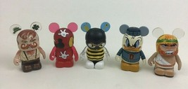 Disney Mickey Mouse Vinylmation Toy Figures Topper Extreme Wrestlers Don... - $22.23