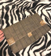 Auth CHANEL Shoulder Bag Black Matelasse Chocolate Bar Flap Logo Quilted... - $1,052.37