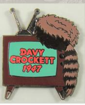 Davy Crockett dated 1947  Error Authentic Disney pin - $12.99