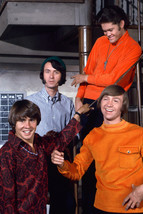 The Monkees On Staircase 1960's Group Pose 18x24 Poster - $23.99