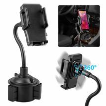 360° Universal Car Mount Adjustable Gooseneck Cup Holder Cradle for iPho... - $19.90
