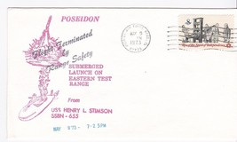 POSEIDON FLIGHT TERMINATED USS HENRY STIMSON PATRICK AFB FL MAY 9 1973 - $1.98