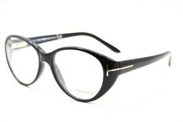 New Tom Ford Tf 5245 001 Black Eyeglasses Authentic Rx TF5245 53-15 W/CASE - $148.20