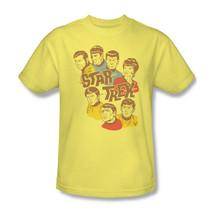 Star Trek cartoon T-shirt vintage retro original cast cartoon 100% cotton cbs938 image 2