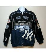 New York Yankees 2009 World Series 27th Title Jacket Coat Mens Size XXL ... - $128.69