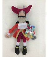 """Jake and the Neverland Pirates Captain Hook 10"""" Plush Disney Just Play w... - $10.84"""