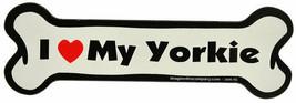 Hueso Imán i Love My Yorkie para Su Coche Refrigerador con Orgullo Hecho... - $15.10 CAD