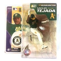 Miguel Tejada 2003 McFarlane Toys Sports Picks MLB Series 5 Sealed Oakla... - $24.70