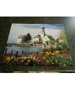 Merrigold Press Wasserburg & Bodensee, Germany 500 Pc Puzzle Complete  - $9.89